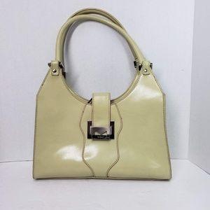 Mondani Handbag Simulated Leather Sage Green
